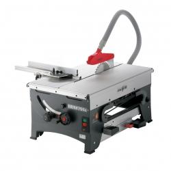ERIKA 70 Ec Píla so spodným ťahom vr.dodatočný- a frézovací stol  a 2 oporné a uzatváracie lišty, 1000 mm