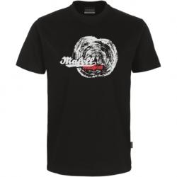 Pánske čierne tričko - letokruh