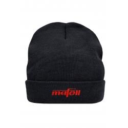 Zimná čierna čiapka