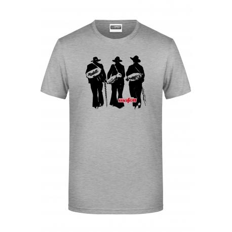 Pánske šedé tričko - tesár