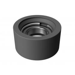Krúžok vrátane guľ. ložiska - dĺžka čapu 20mm Ø 47,6mm