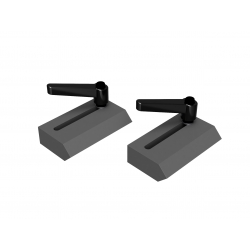 Simplex dorazová čeľusť  60x100 mm dvojdielna,  (LT060 / LT080 / LT120 / LT180)