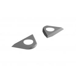 Wendemesser- Einbohrschneide für Helicutfräser NL60mm (2Stk/Set)