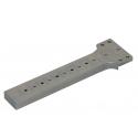 Výmenný diel do šablóny pre rovný čap  40 mm hranatý