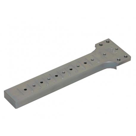 Výmenný diel do šablóny pre rovný čap  30 mm hranatý