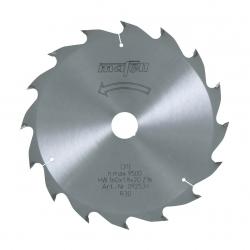 92539 Pílový kotúč-HM, 160 x 1,2/1,8 x 20 mm, Z 16, WZ