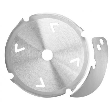 Diamantový pílový kotúč - Set 160 x 2,4/3,0 x 20 mm, Z 4, vrátane rozperného klínu