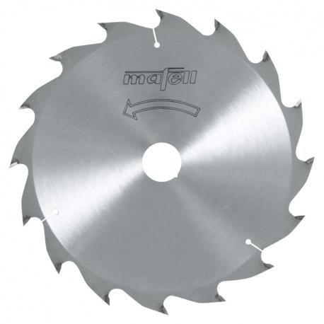 Pílový kotúč-HM, 185 x 1,4/2,4 x 20 mm, Z 16, WZ