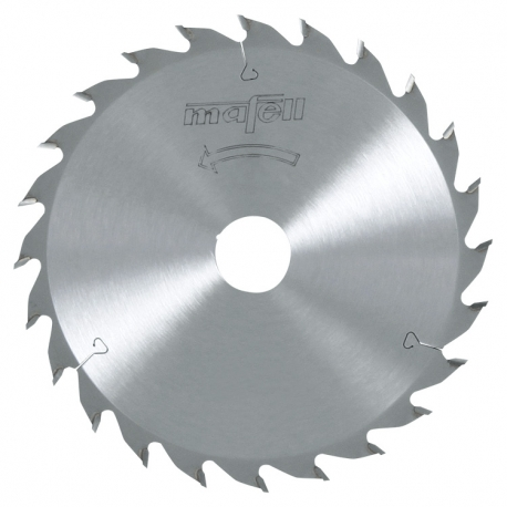 Pílový kotúč-HM, 185 x 1,4/2,4 x 20 mm, Z 24, WZ
