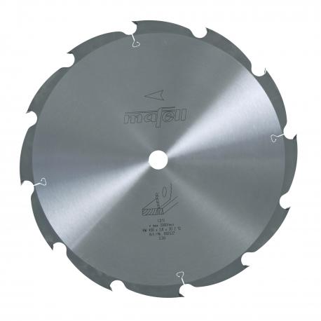 Pílový kotúč-HM, 450 x 2,5/3,8 x 30 mm, Z 12, WZ