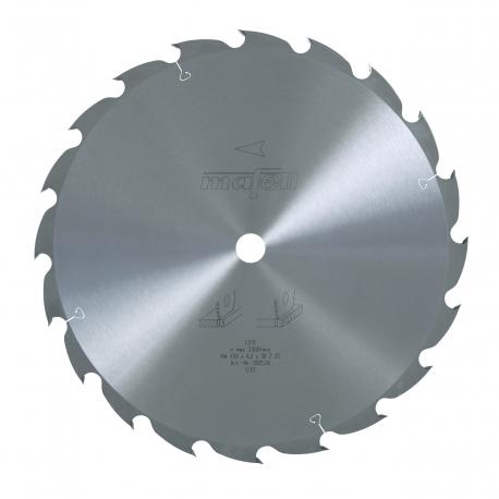 Pílový kotúč-HM, 450 x 2,5/4,2 x 30 mm, Z 20, WZ