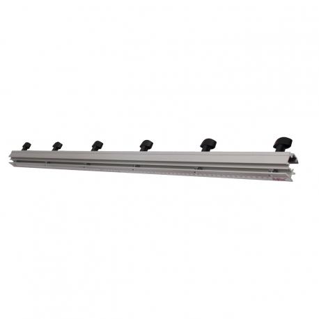 Oporná a uzatváracia lišta, 840 mm dlhá