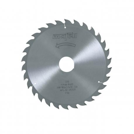 Pílový kotúč-HM, 180 x 1,2/2,0 x 30 mm, Z 30, WZ