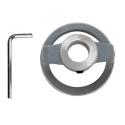 Doraz a ochranný krúžok, zostavený z imbusového kľúča pre vŕtanie Ø 50 - 70 mm