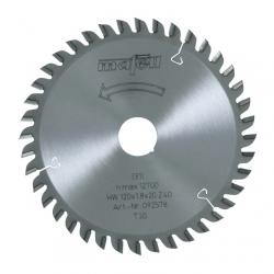 Pílový kotúč-HM, 120 x 1,2/1,8 x 20 mm, Z 40, TR