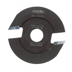 Fréza lodičková, 100 x 8 x 22 mm Z 2,tvrdoková