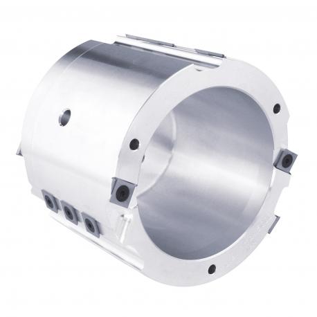 Hlava sedlová drážkovacia, Ø 150 x 115 mm
