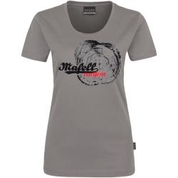 Dámske šedé tričko - letokruh