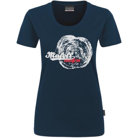 Dámske marine tričko - letokruh