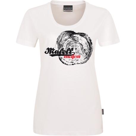Dámske biele tričko MAFELL - tesár