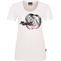 Dámske biele tričko - letokruh