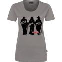 Dámske šedé tričko - tesár